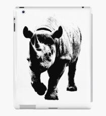 Half Tone Rhinoceros iPad Case/Skin