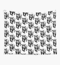 Half Tone Rhinoceros Wall Tapestry