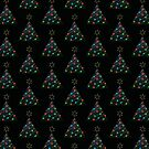 Christmas Trees Pattern by Daniel Bevis
