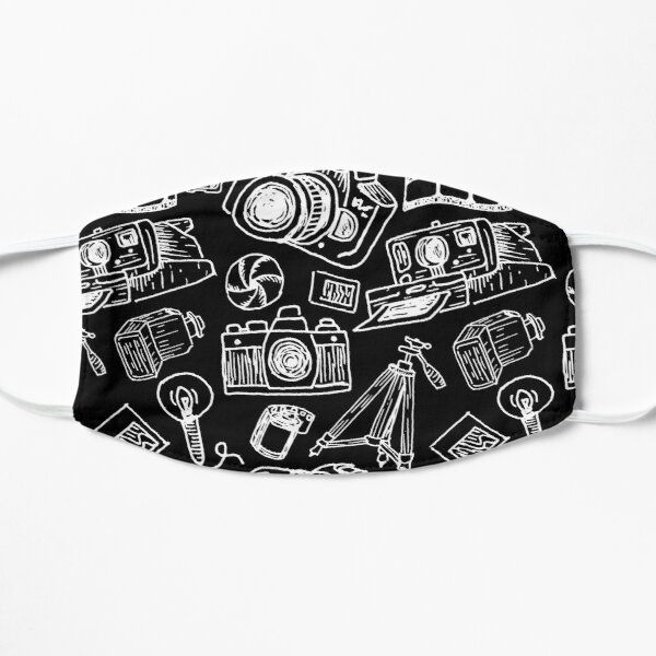 Photographer's Toolbox (White) Flat Mask