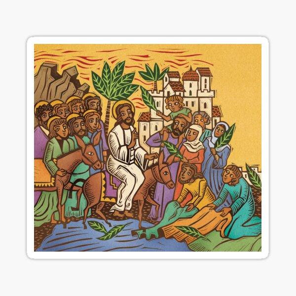 Palm Sunday Sticker