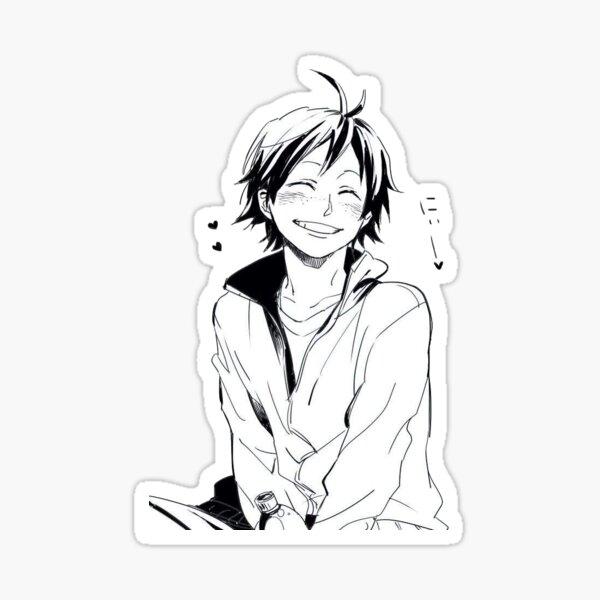 yamaguchi blush Sticker