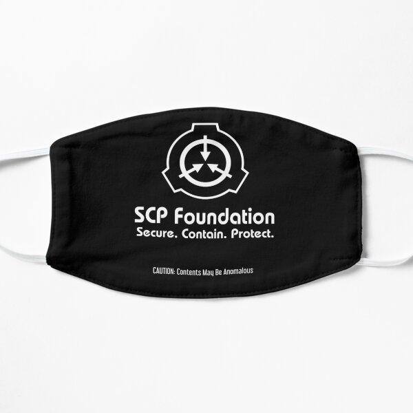 SCP Foundation Logo Flat Mask