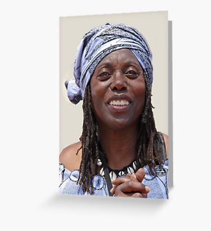 Makeda, Spirit of Peace, Love & World Unity Greeting Card