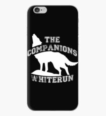 The companions of Whiterun - White iPhone Case