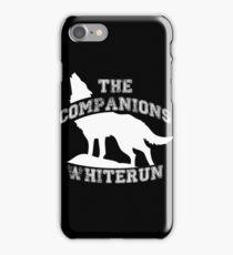 The companions of Whiterun - White iPhone Case/Skin