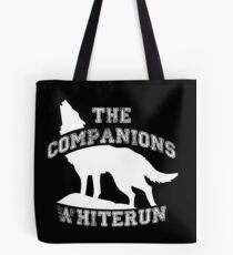 The companions of Whiterun - White Tote Bag