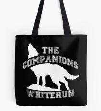 The companions of Whiterun - White Tote Bag