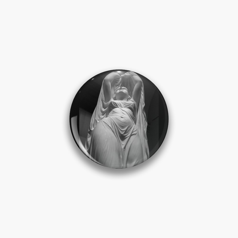 Undine Rising from the Waters. Chauncey Bradley Ives Pin