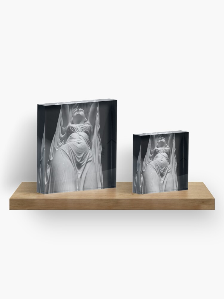 Alternate view of Undine Rising from the Waters. Chauncey Bradley Ives Acrylic Block