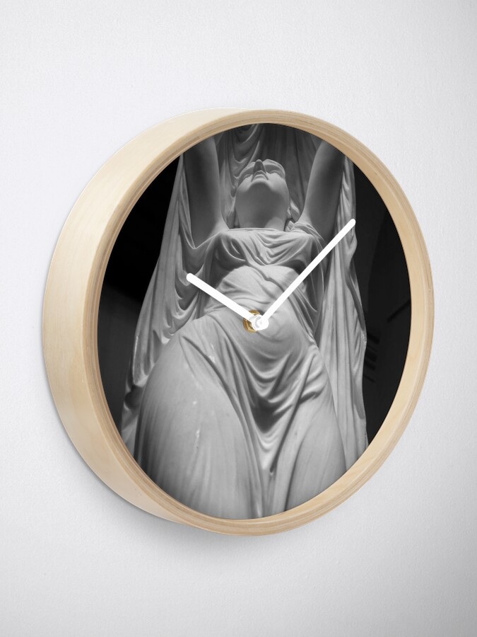 Alternate view of Undine Rising from the Waters. Chauncey Bradley Ives Clock