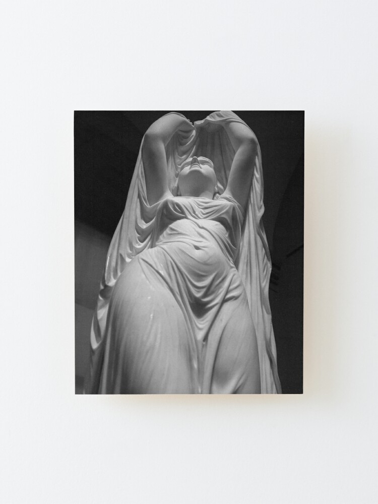 Alternate view of Undine Rising from the Waters. Chauncey Bradley Ives Mounted Print