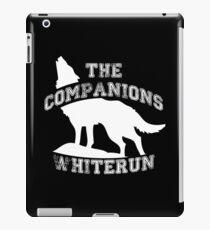 The companions of Whiterun - White iPad Case/Skin