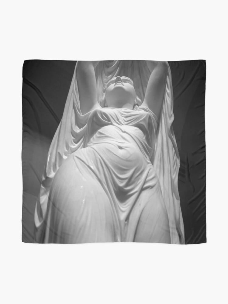 Alternate view of Undine Rising from the Waters. Chauncey Bradley Ives Scarf