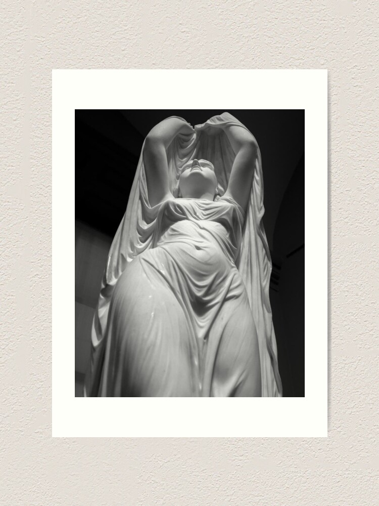 Alternate view of Undine Rising from the Waters. Chauncey Bradley Ives Art Print