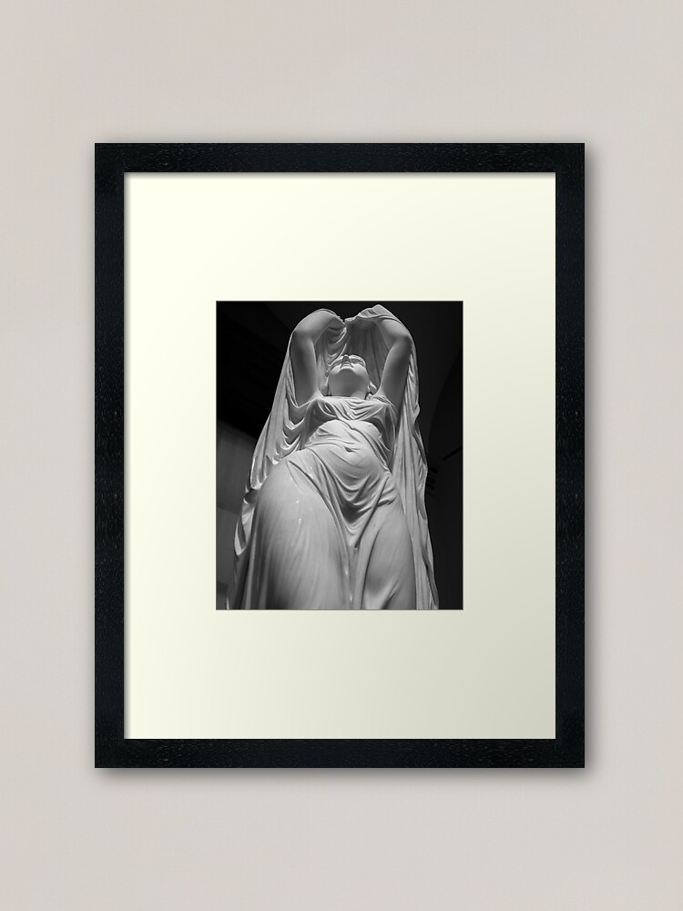 Alternate view of Undine Rising from the Waters. Chauncey Bradley Ives Framed Art Print