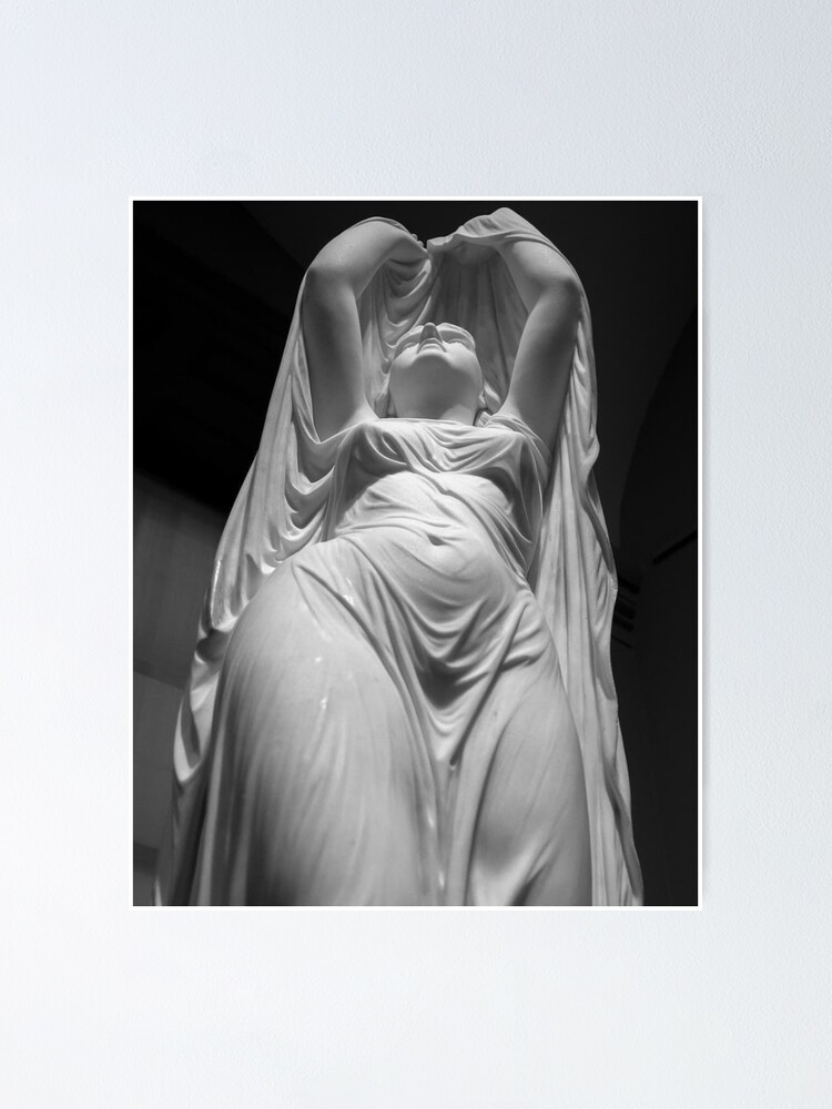 Alternate view of Undine Rising from the Waters. Chauncey Bradley Ives Poster