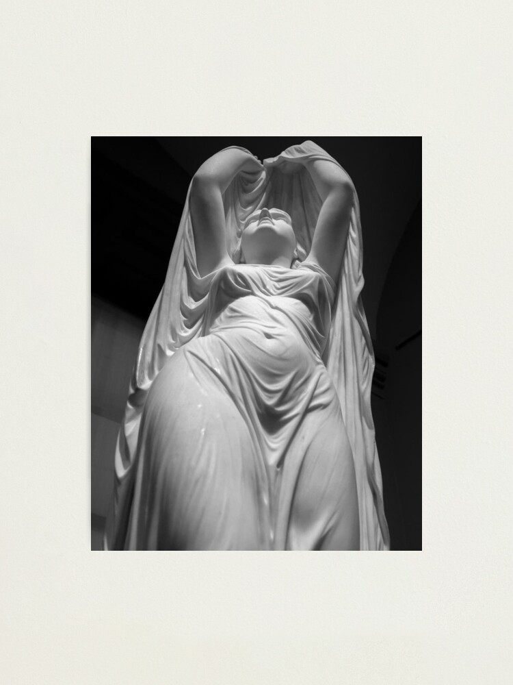 Alternate view of Undine Rising from the Waters. Chauncey Bradley Ives Photographic Print
