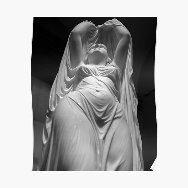 Undine Rising from the Waters. Chauncey Bradley Ives Poster