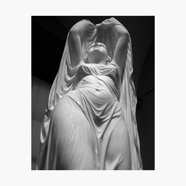 Undine Rising from the Waters. Chauncey Bradley Ives Photographic Print