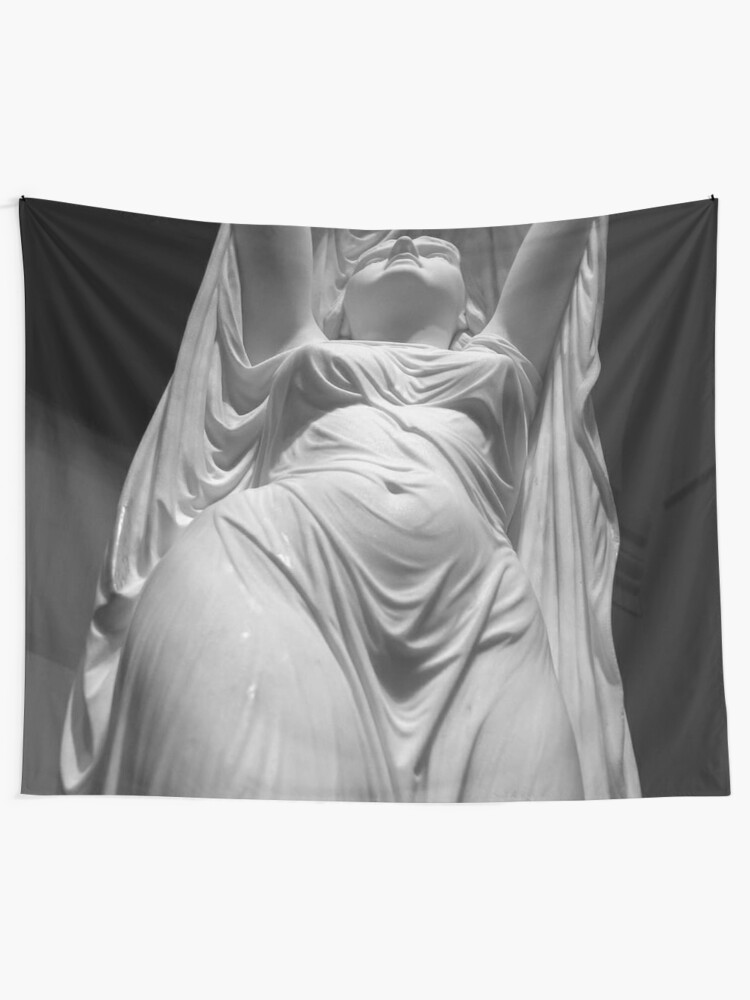 Alternate view of Undine Rising from the Waters. Chauncey Bradley Ives Tapestry