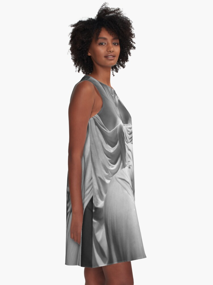 Alternate view of Undine Rising from the Waters. Chauncey Bradley Ives A-Line Dress