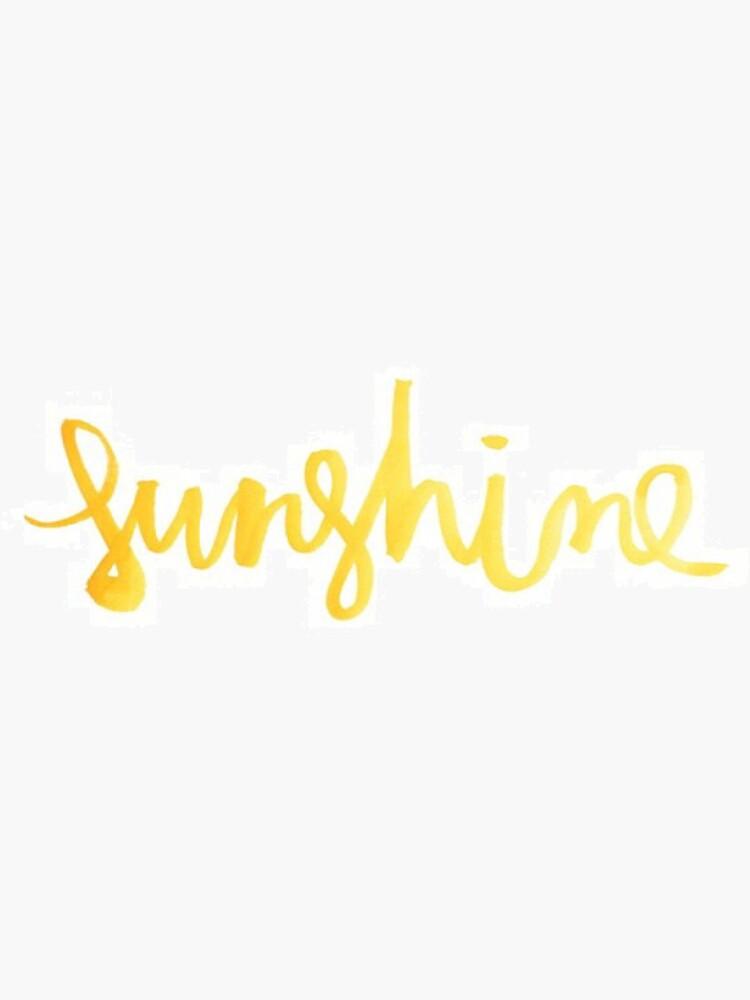 Gold Sonnenschein von shannonfraney