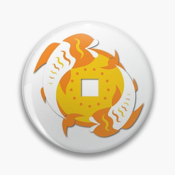 Coin Fish Pin