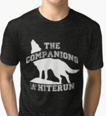 The companions of Whiterun - White Tri-blend T-Shirt