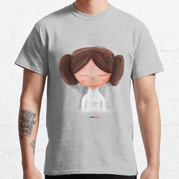 White Girl by Fran Ferriz Camiseta clásica