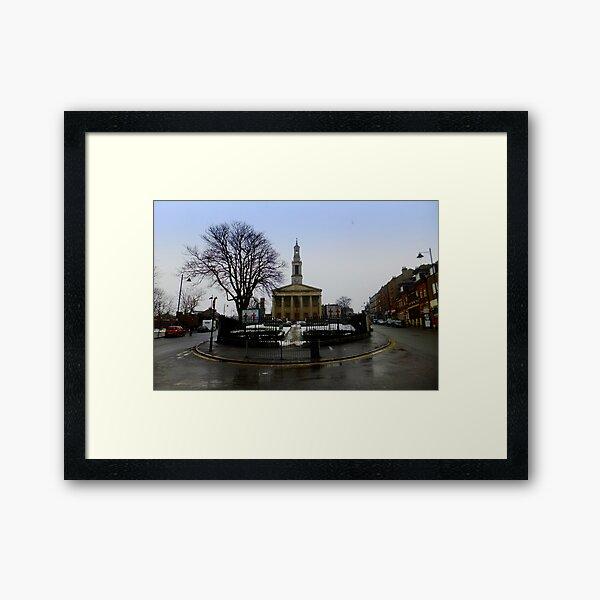St Lukes West Norwood in Winter Framed Art Print