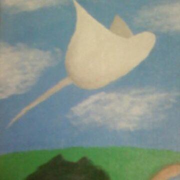 Flying Stingray by ashleyschex