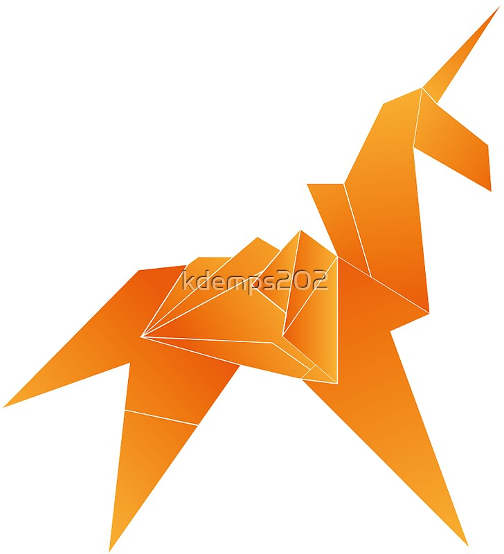 blade runner origami stickers redbubble. Black Bedroom Furniture Sets. Home Design Ideas