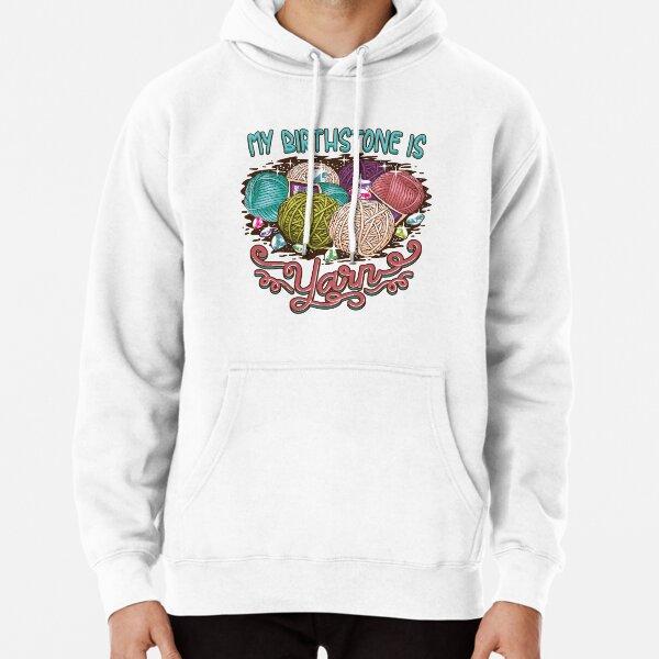 Copy of Birthstone yarn Crochet Lover shirt Pullover Hoodie