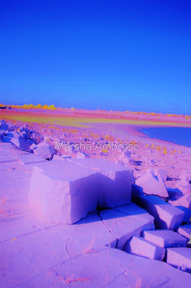 Rock Candy Coastline by Marsha Ambrose