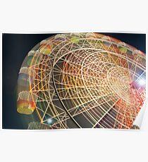 Luna Park Sydney ferris wheel Poster