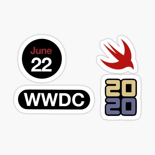 Second set of WWDC 2020 Stickers Sticker