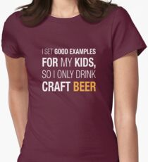 Craft Beer Women's Fitted T-Shirt