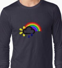 A chance of rainbows Long Sleeve T-Shirt
