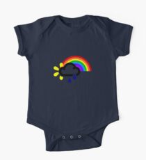 A chance of rainbows One Piece - Short Sleeve
