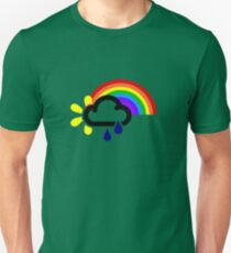 A chance of rainbows Unisex T-Shirt