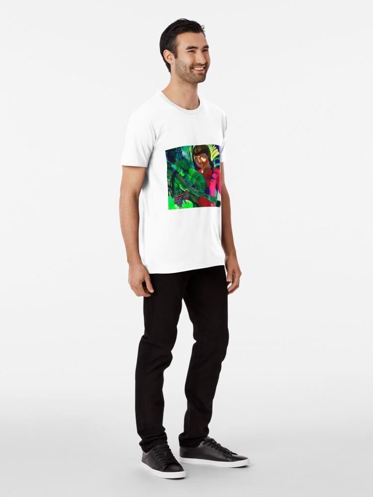 Alternate view of Art of Sherlock Tkachenko Premium T-Shirt