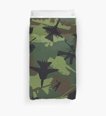 Military Camouflage Pattern Print Duvet Cover