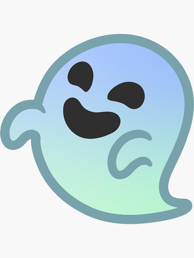 Gradiente Android Ghost Emoji de baiiley