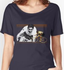 vintage poster EDDY MERCKX: the cannibal Women's Relaxed Fit T-Shirt