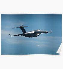 C-17 Globemaster - RAAF Pearce Airshow 2012 Poster