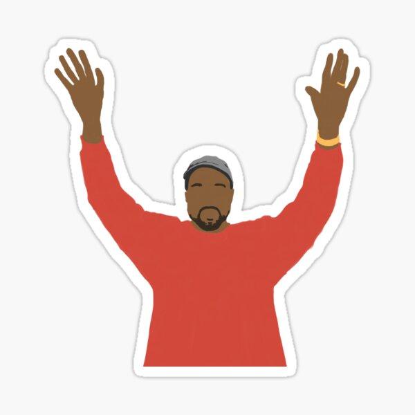 Kanye West Pegatina