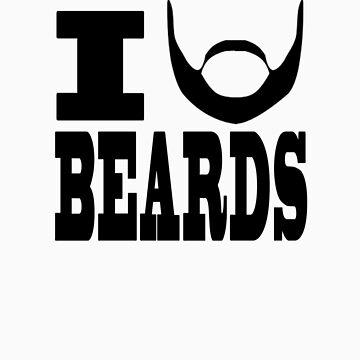 I BEARD BEARDS by JerBear