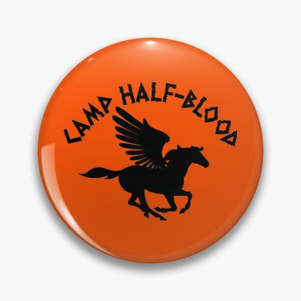 Camp Half Blood Long Island Sound Percy Jackson #1 Pin