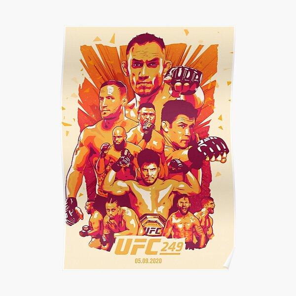 UFC 249 Official Artwork: Tony Ferguson Vs Justin Gaethje Poster